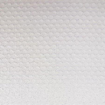 Tecido Piquet Liso Off White, 100% Algodão, 50cm x 1,43mt
