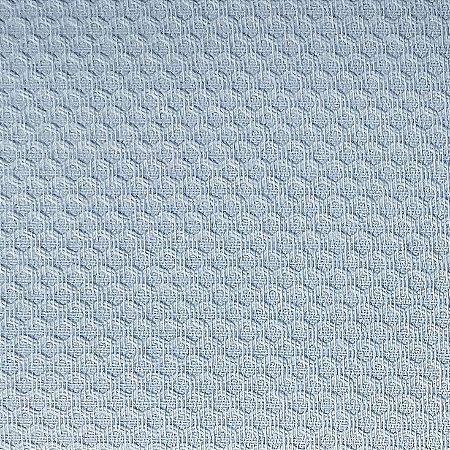 Tecido Piquet Liso Azul Nuvem, 100% Algodão, 50cm x 1,43mt