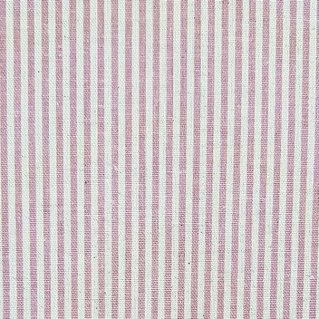 Cotton Linen Listrado, 80% Algodão 20% Linho, 50cm x 1,52mt