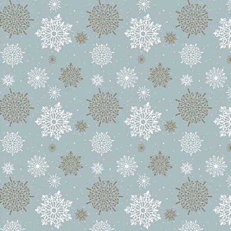 Tricoline Natal Winter Christmas 06, 100%Algod, 50cm x 1,50m