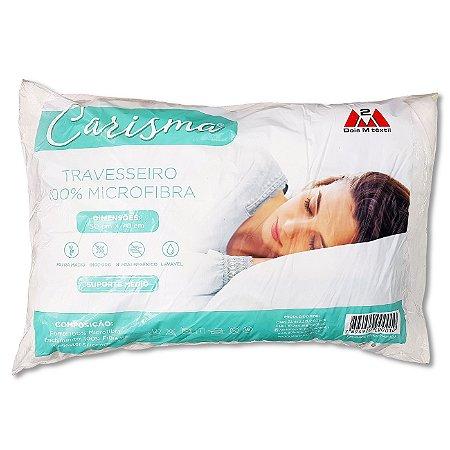 Travesseiro Carisma, Extra Macio, 100%Microfibra 50cm x 70cm