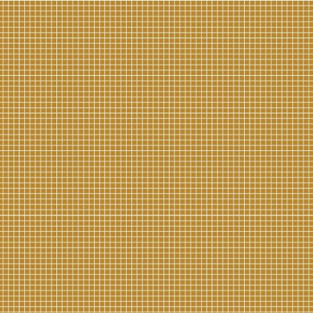 Tricoline Quadradinhos Mostarda, 100% Algodão, 50cm x 1,50mt