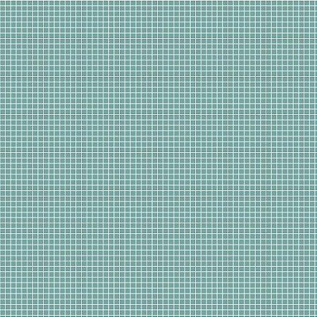 Tricoline Quadradinhos Jade, 100% Algodão, 50cm x 1,50mt