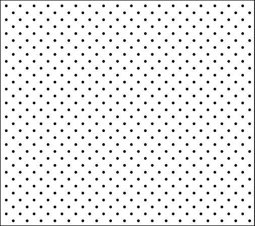 Tricoline Poá Pequeno Branco c/ Bolinha Preta 100% Algodão unid 50cm X 1,50mt