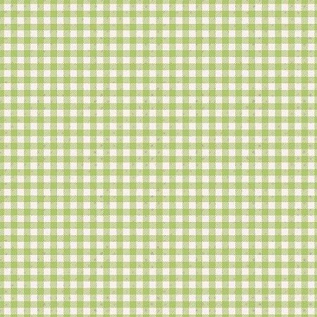 Tricoline Xadrez Verde Picnic, 100% Algodão, Unid. 50cm x 1,50mt