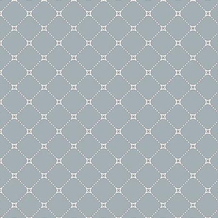 Tricoline Básico Paris Azul, 100% Algodão, Unid. 50cm x 1,50mt
