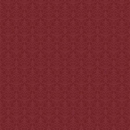 Tricoline Arabesque Vinho, 100% Algodão, Unid. 50cm x 1,50mt