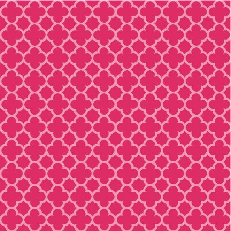 Tricoline Neutro Jardim de Borboletas (Pink), 100% Algodão, Unid. 50cm x 1,50mt