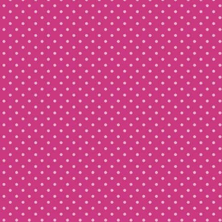 Tricoline Poá Tom Tom (Pink) - 100% Algodão, Unid. 50cm x 1,50mt