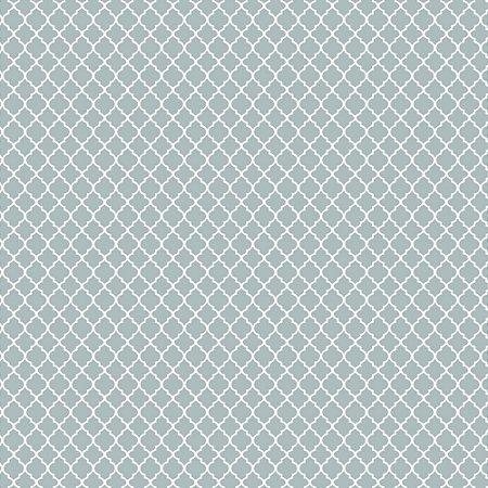 Tricoline Mini Vitral Cinza, 100% Algodão, Unid. 50cm x 1,50mt
