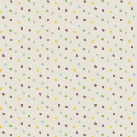 Tricoline Poá Rose Multi Dot, 100% Algodão, Unid. 50cm x 1,50mt