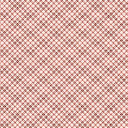 Tricoline Estampado Micro Xadrez Salmão, 100% Algodão, Unid. 50cm x 1,50mt
