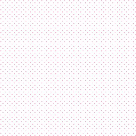 Tricoline Estampado Mini Poá Rosa Bebê, 100% Algodão, Unid. 50cm x 1,50mt