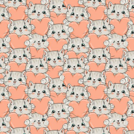Tricoline Estampado Cat 7, 100% Algodão, Unid. 50cm x 1,50mt