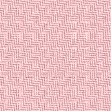Tricoline Estampado Pied de Poule Rose, 100% Algodão, Unid. 50cm x 1,50mt