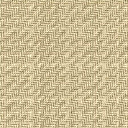 Tricoline Estampado Pied de Poule Marrom Claro, 100% Algodão, Unid. 50cm x 1,50mt