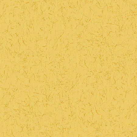 Tricoline Estampado Grafiato Canário, 100% Algodão, Unid. 50cm x 1,50mt