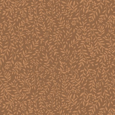 Tricoline Estampado Neutro Ramos- 100% Algodão, Unid. 50cm x 1,50mt