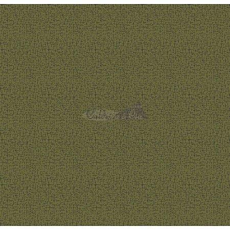 Tecido Tricoline Crackelad (Verde Musgo), 100% Algodão, Unid. 50cm x 1,50mt