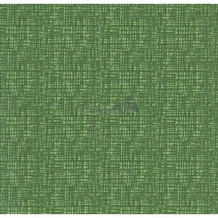 Tricoline Textura Efeito (Verde Folha), 100% Algodão, Unid. 50cm x 1,50mt