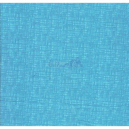 Tricoline Textura Efeito (Azul Capri), 100% Algodão, Unid. 50cm x 1,50mt