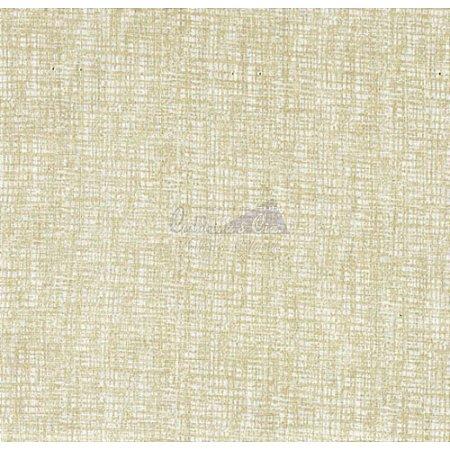 Tricoline Textura Efeito (Bege Claro), 100% Algodão, Unid. 50cm x 1,50mt