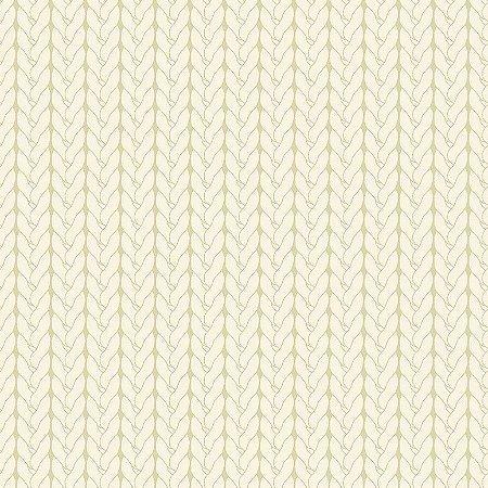 Tecido Tricoline Tricô Básico Crú, 100% Algodão, Unid. 50cm x 1,50mt