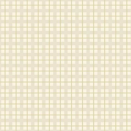 Tecido Tricoline Xadrez Baby Crú, 100% Algodão, Unid. 50cm x 1,50mt