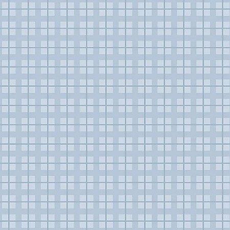 Tecido Tricoline Xadrez Baby Azul, 100% Algodão, Unid. 50cm x 1,50mt