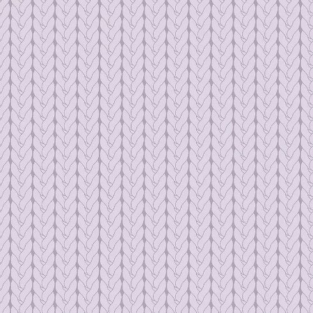Tecido Tricoline Tricô Básico Lilás, 100% Algodão, Unid. 50cm x 1,50mt