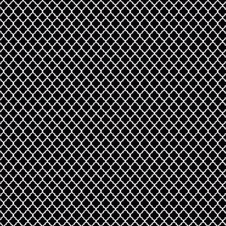 Tricoline Estampado Mini Vitral Preto, 100% Algodão, Unid. 50cm x 1,50mt