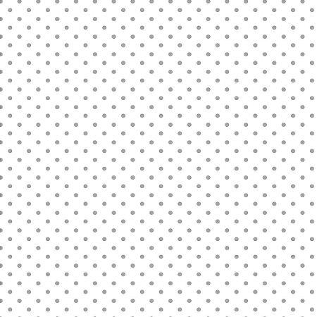 Tricoline Estampado Mini Poá Cinza, 100% Algodão, Unid. 50cm x 1,50mt