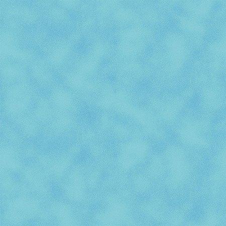 Tricoline Estampado Poeira Azul Capri, 100% Algodão, Unid. 50cm x 1,50mt