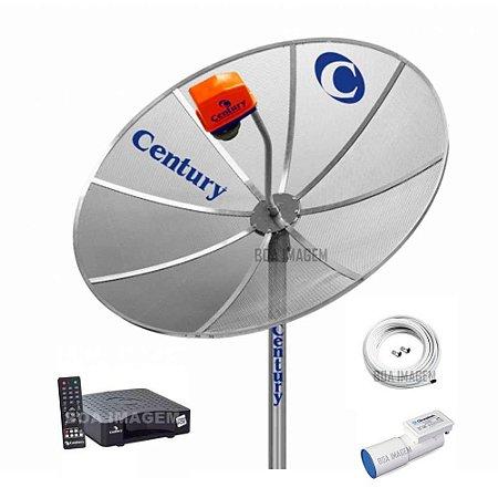 Antena Parabólica Century Multiponto 1,5m 1 Receptor Nanobox