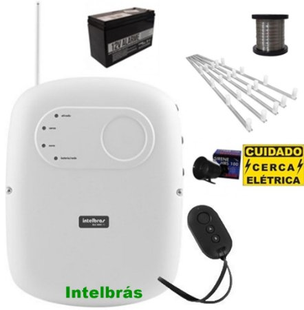 Kit Central De Cerca Eletrica Intelbrás High Power Elc 5002