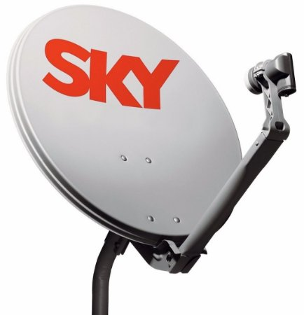 Kit De Antena Parabólica Sky 60 Cm+lnbf simples