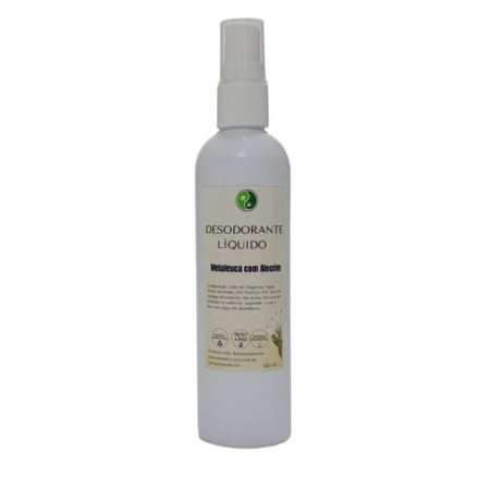 Desodorante Líquido Melaleuca e Alecrim