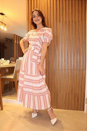 Vestido Noronha Rosê
