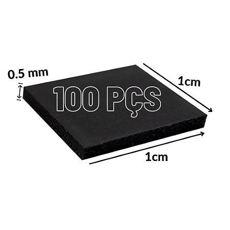 Thermal Pad Térmica 1cm*1cm 0.5mm 100 Pçs Para Consoles GPU