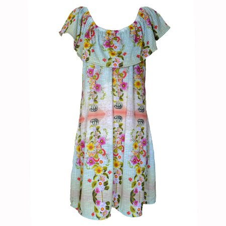 Vestido Infantil Estampado Kuai- Lilly