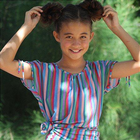 Bata Infantil Menina Estampada Bali - Sofia