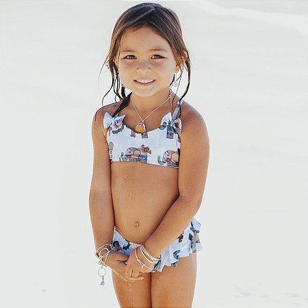 Biquíni Infantil Malibu - Luna