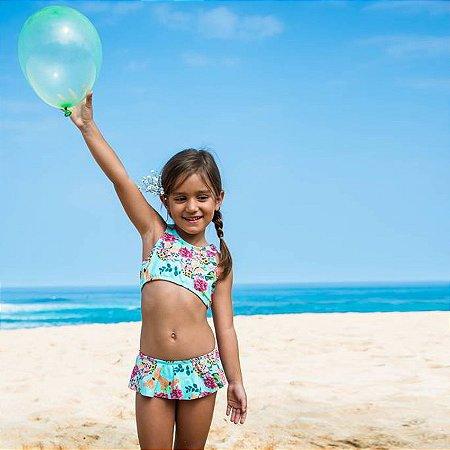Biquíni Infantil Top Nadador - Dhalia