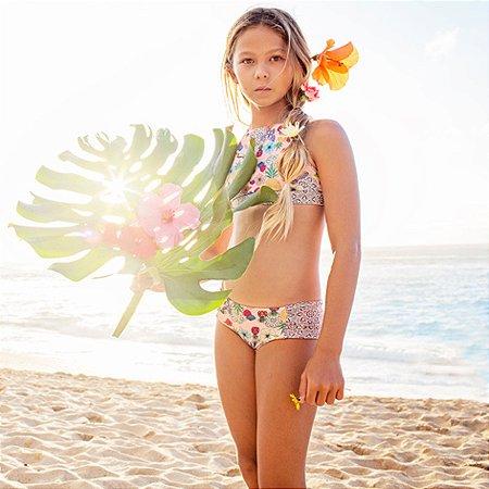 Biquíni Infantil Floripa - Hibiscus/Mandala