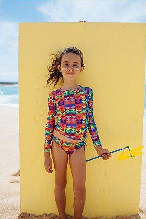 Conjunto Infantil Camisa e Calcinha Kailua - Lana