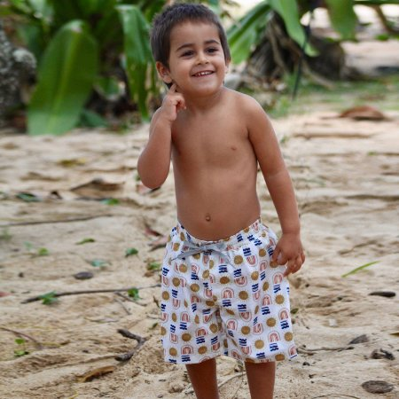 Bermuda Infantil Papeete - Bento