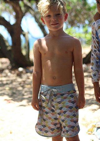 TjS-Bermuda Infantil Menino Kai - Tim