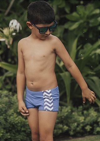 VgR-Sunga Infantil Menino Canggu - Azul/Sol