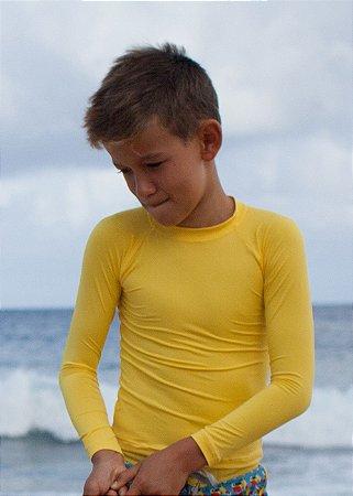 Camisa UV Infantil Menino Manga Longa Leon - Sun