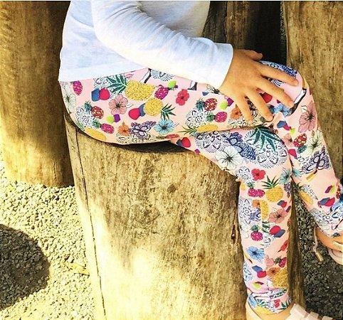 Legging Infantil Lului - Hibiscus